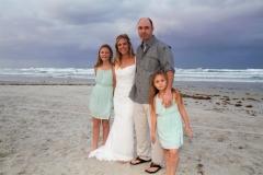Beach wedding, Daytona Beach, FL