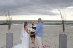Marineland Beach Wedding