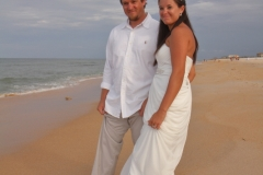 Toes in the Sand Wedding, Palm Coast