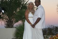Sunset Wedding, Hammock Beach Resort, Palm Coast