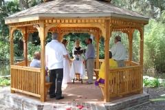 Washington Oaks Gazebo Wedding, Palm Coast