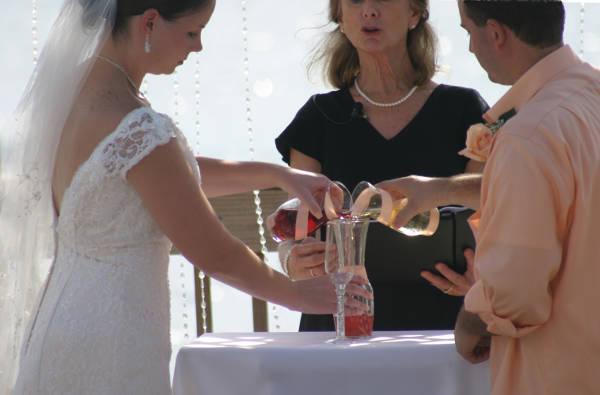 Wedding, Bing's Landing, Palm Coast