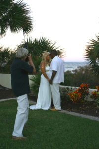 Photographer, Sunset Wedding at Hammock Beach Resort, Palm Coast