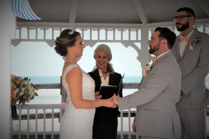 Coral Sands Inn Gazebo Wedding, Ormond Beach