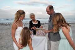 Wedding Sand Ceremony, Daytona Beach