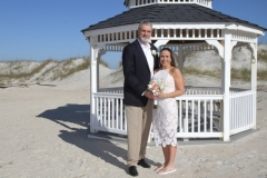 St. Augustine Beach Wedding Gazebo