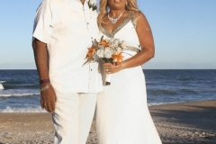 Sunset Beach Wedding, Hammock Beach, Palm Coast