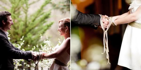 Palm Coast Wedding Handfasting Ceremony
